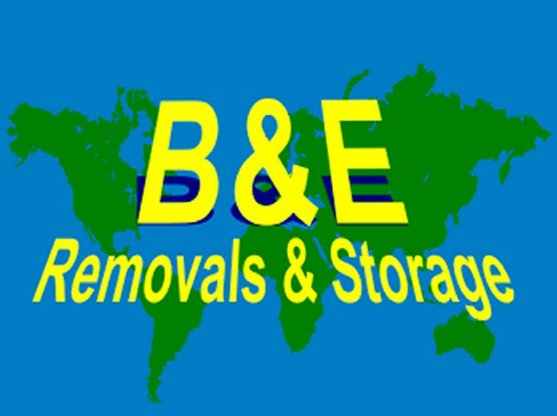 B & E Removals & Storage logo
